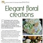 Elegant floral creations