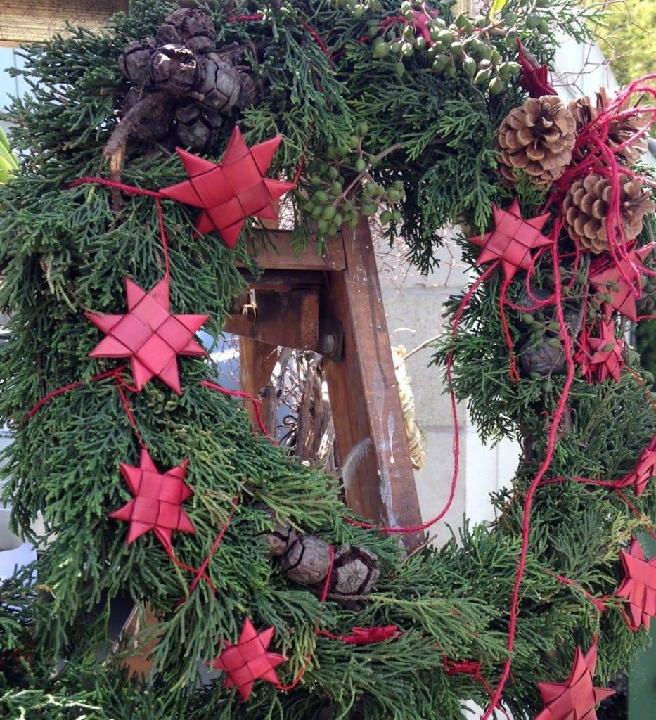 kim chan events | fresh fir wreath