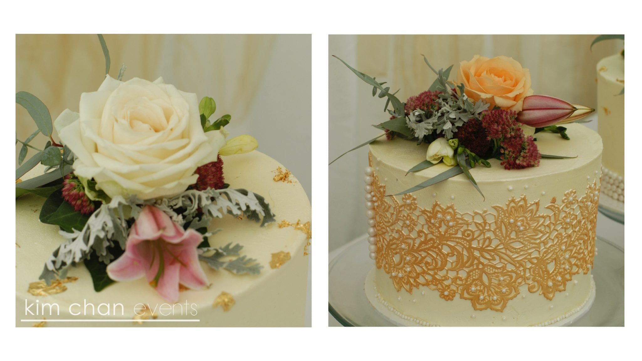 kim chan events | flowers the perfect finishing touches cake decor