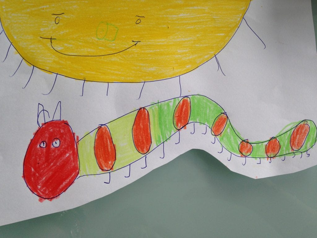 the very hungry caterpillar - a project with my son kim chan events