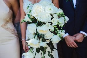 Beautiful wedding bouquets designed by Kim Chan Events