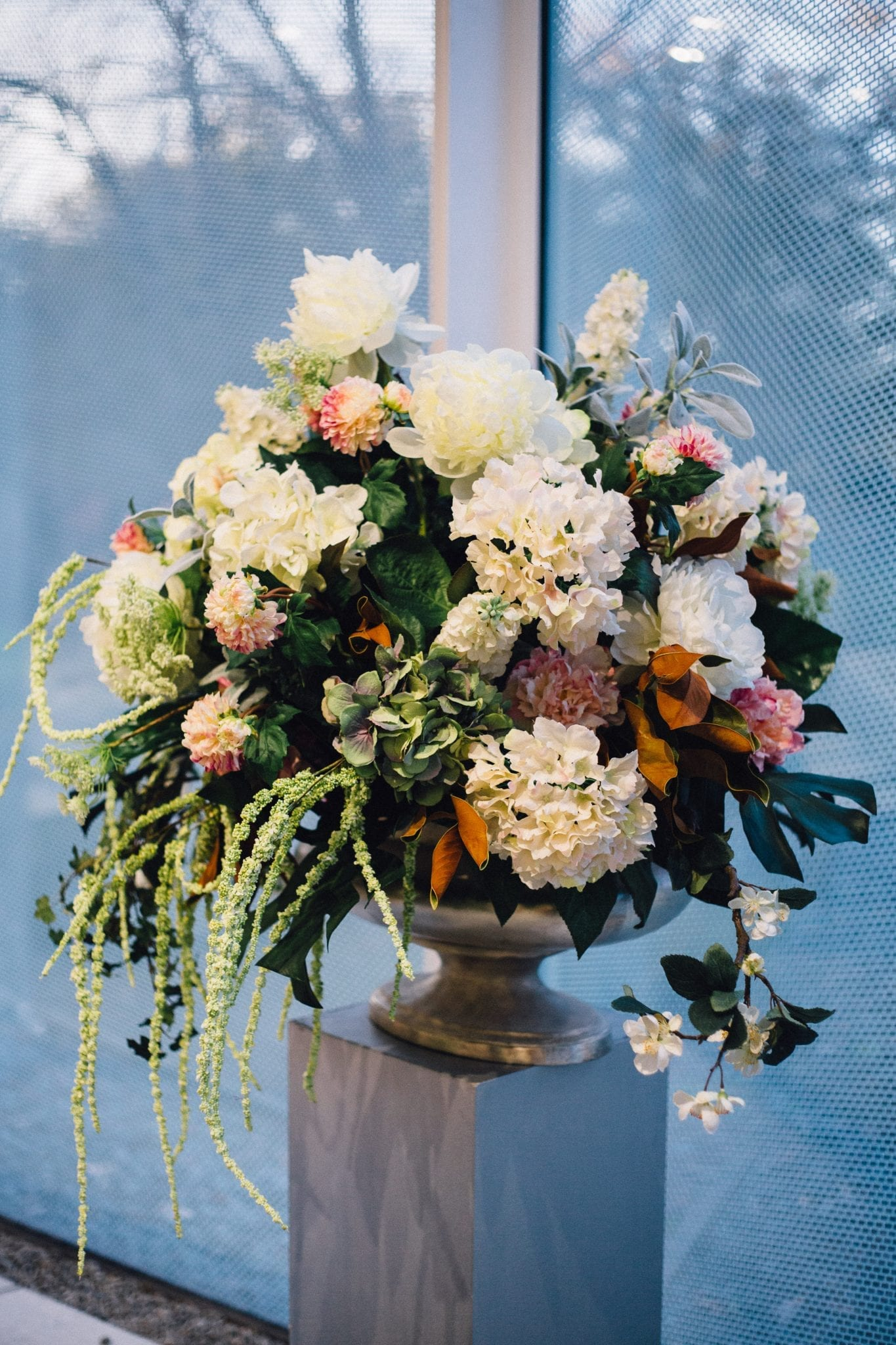 Kim Chan using Artificial Flowers for Wedding or Event in Christchurch