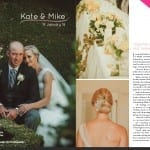 Kate and Mike Wedding as Featured in Canterbury Bride Magazine