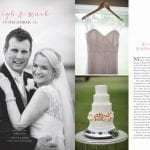 Leigh Chalmers and Mark Sheras Wedding - as featured in Canterbury Bride Magazine