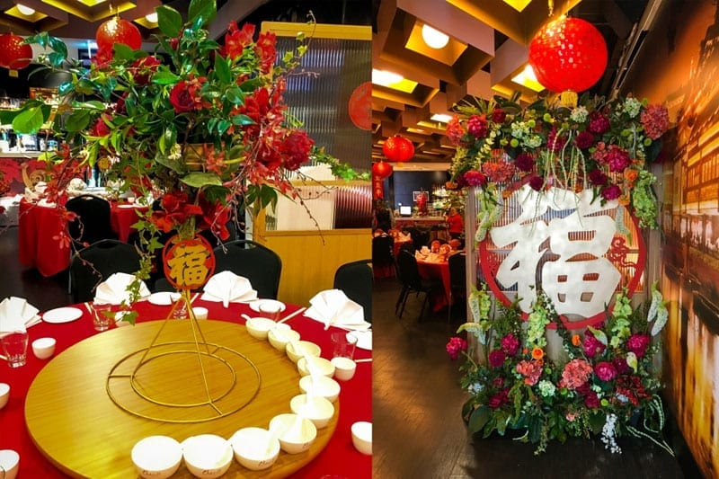 Corporate Event Stylists - Chinese New Year Event Setup at the Christchurch Casino