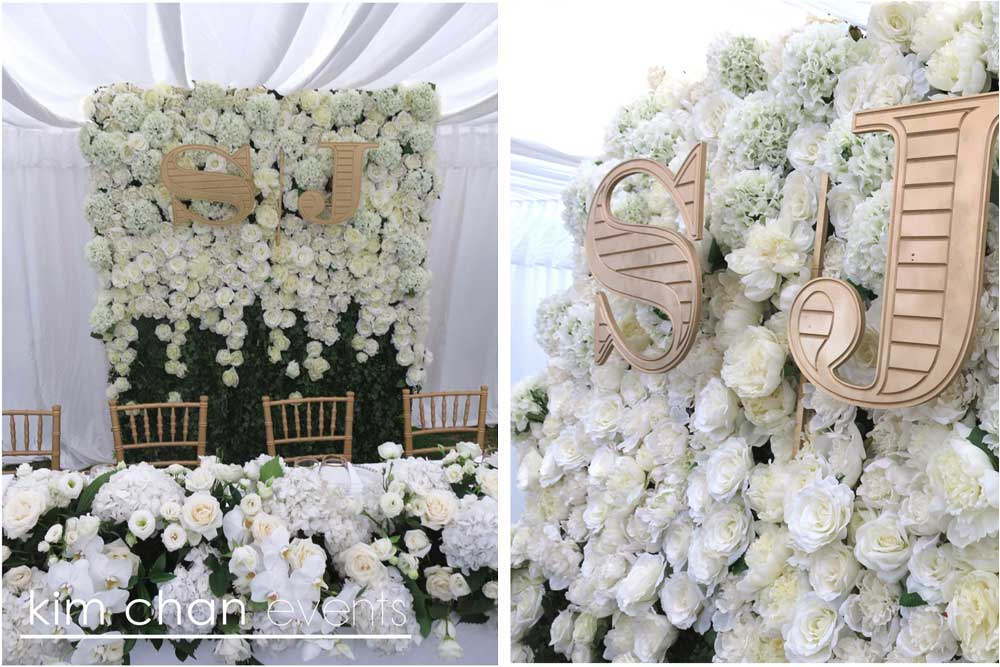 Custom Design Flower Walls