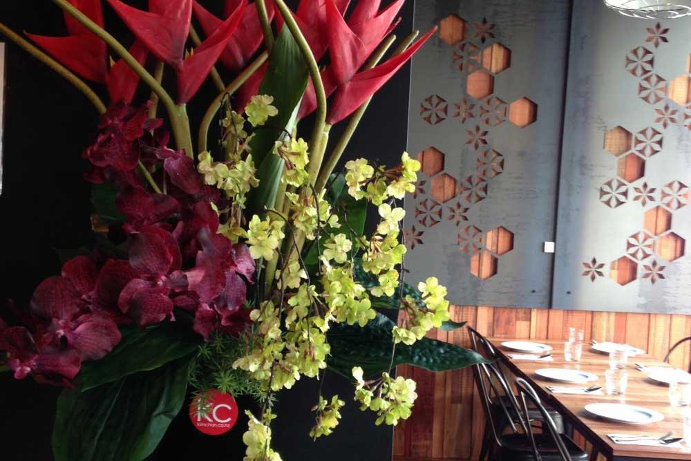 Floral Displays and Event Setup