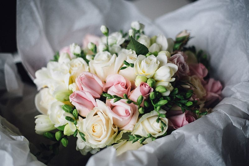 Christchurch wedding florist - Beautiful bridal bouquet