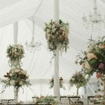 Wedding marquee feature pieces