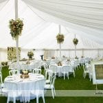 Marquee wedding decor for wedding reception