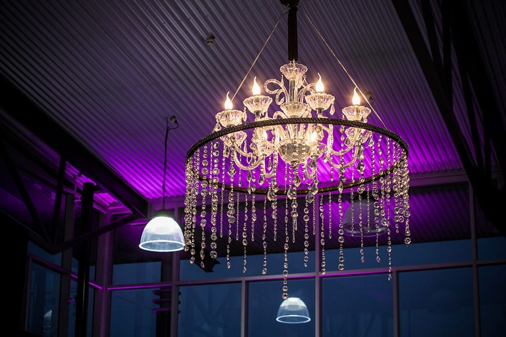 Chandeliers by Kim Chan Events