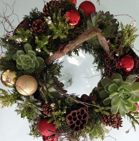 Christmas Wreath by Kim Chan Events