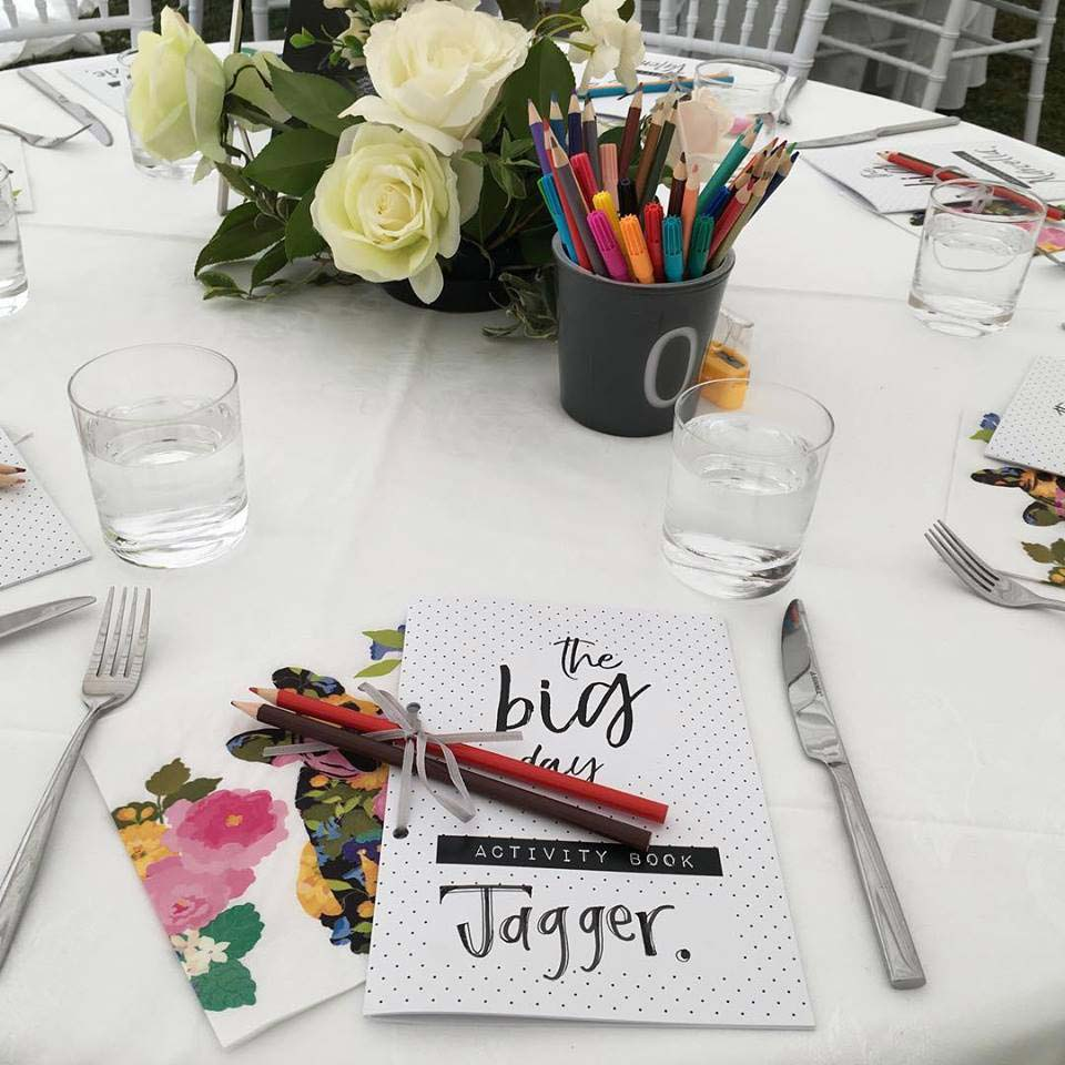 Personalised stationary for children by Kim Chan Events
