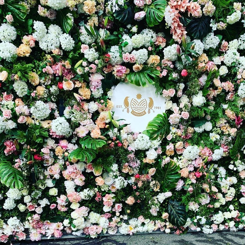 Lindaeur Flower Wall for Cup and Show Week