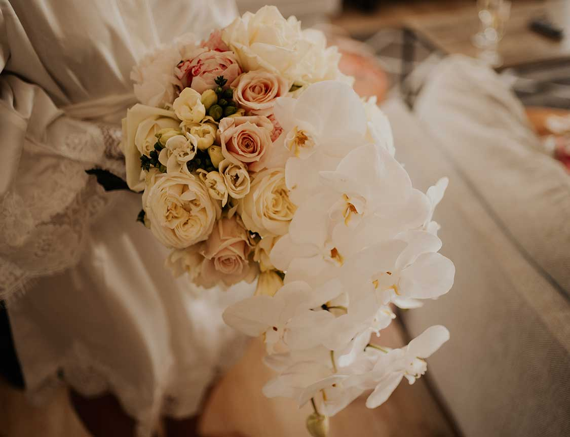 Ashleigh's bridal bouquet by Kim Chan Events