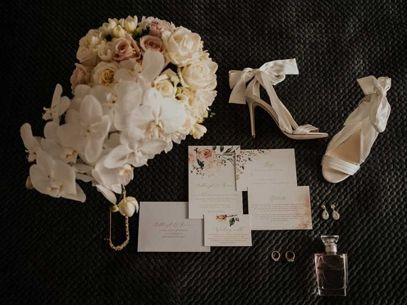 Wedding accessories and stationary