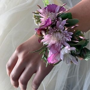 School ball corsage