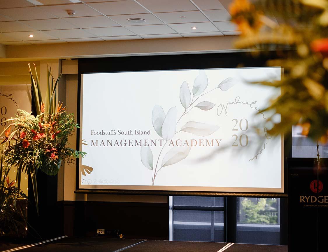 Foodstuffs Christchurch Management Graduation Event 2020