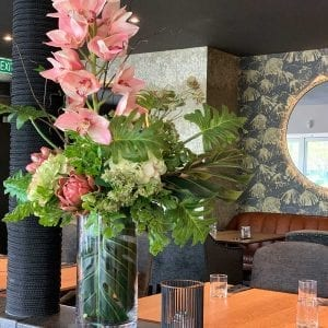 Artificial office flowers delivered free to businesses in Christchurch