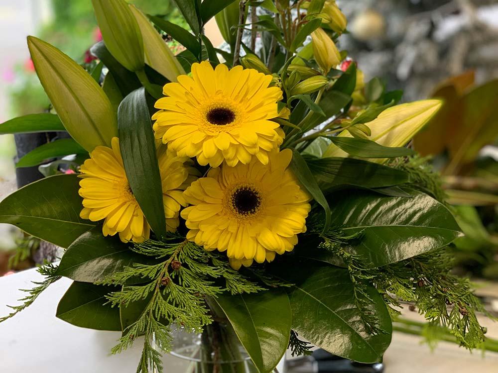 Fresh office flowers