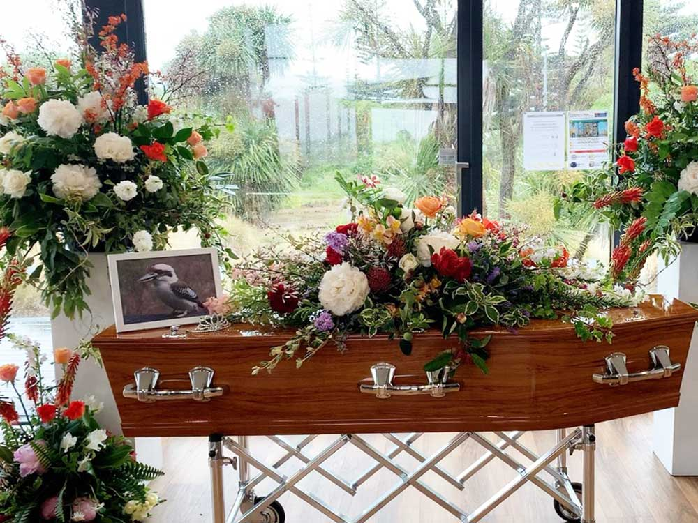 Funeral flowers and event styling
