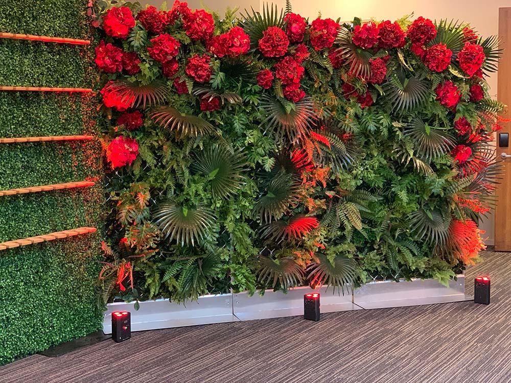 CRFU Awards Dinner Flower/Green wall