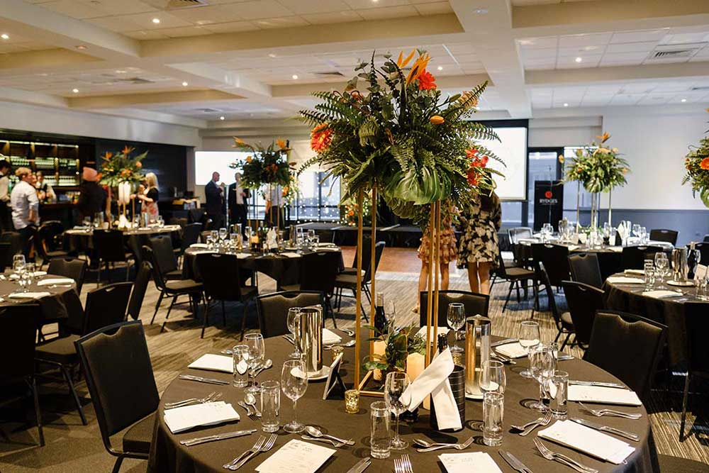 Foodstuffs 2020 corporate event design by Kim Chan Events