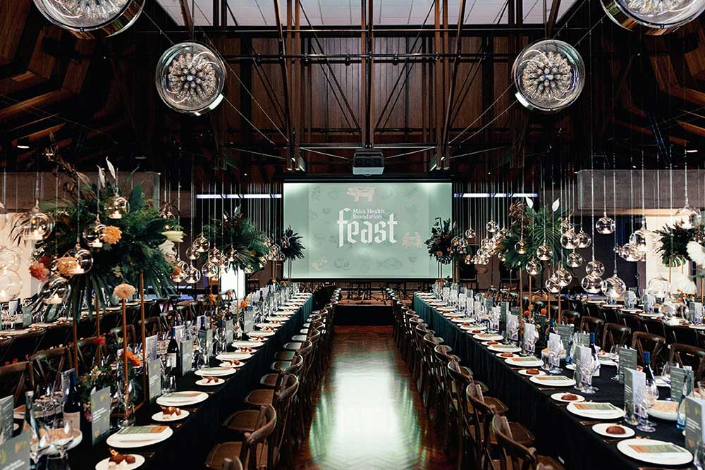 Maia Feast corporate event styling by Kim Chan Events