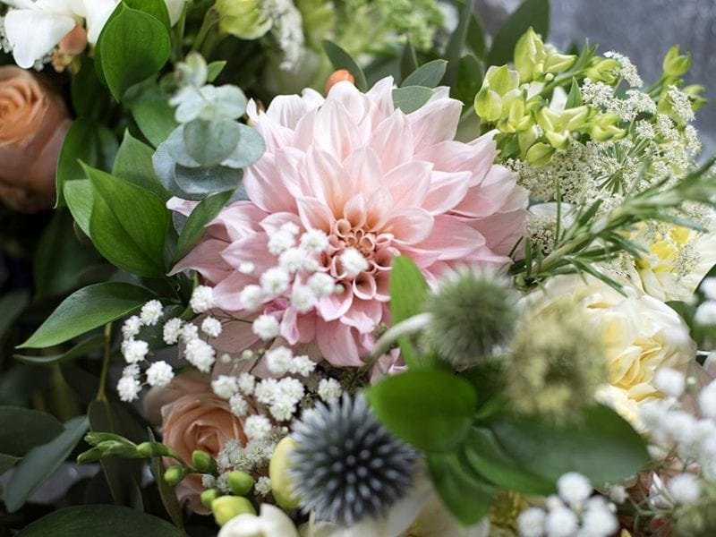 Gorgeous bridesmaid bouquet