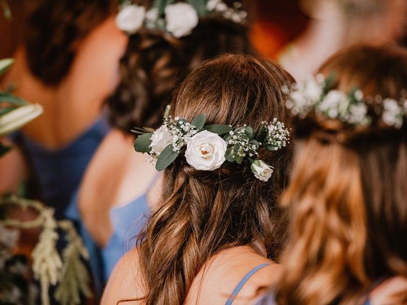 Lovely themed flower girl crowns
