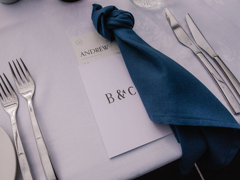 We take care of all the little details for your wedding
